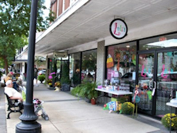 Unique Shops and Antique Stores